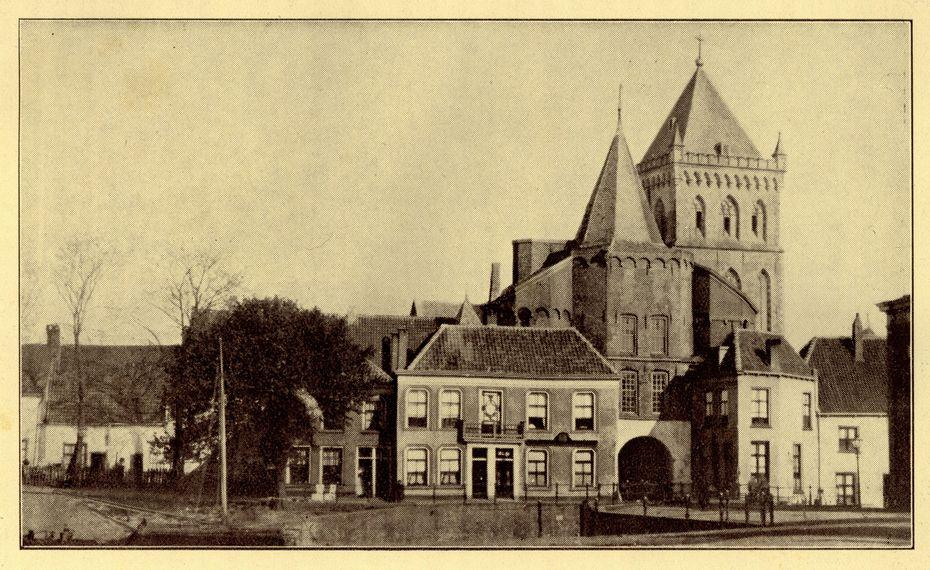 De Hagenpoort in 1893 afgebroken