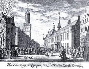 Als provinciale staten in Kampen vergaderen, gebeurde dat in het Stadhuis