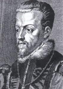 Philips II, koning van Spanje en onder andere heer van Overijssel, 1555-1581