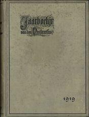 Jaarboekje 1919