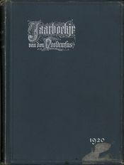 Jaarboekje 1920