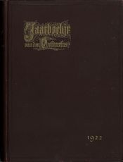 Jaarboekje 1922